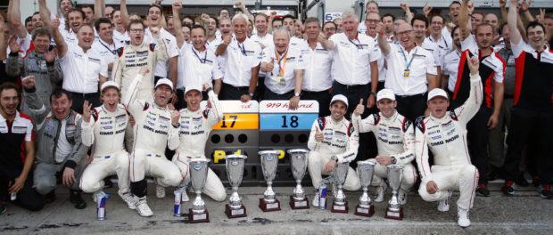 Porsche feiert Doppelsieg beim 6-Stunden-Rennen am Nürburgring Ⓒ Porsche
