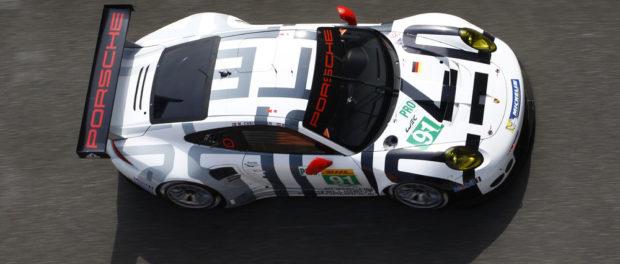 Porsche Team Manthey, Porsche 911 RSR #91, 6 Stunden von Shanghai 2015 © Porsche