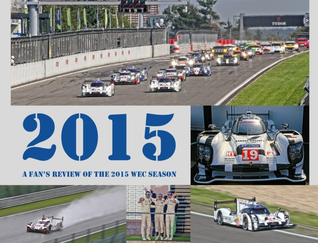 "Buchcover ""2015 – A Fan's Review of the 2015 WEC SEASON"" © Patrick Beckers"