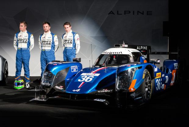 Signatech-Alpine-Le-Castellet-Vorstellung-A460-Fahrer