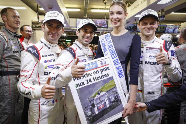 24 Stunden von Le Mans 2016, Porsche, Pole-Position
