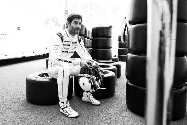 Mark Webber © Porsche