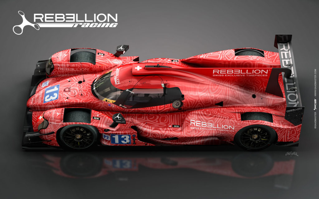 Rebellion Racing, Oreca 07 © GAAZMASTER / Rebellion Racing